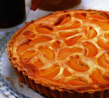 рецепт с фото пирог с персиками