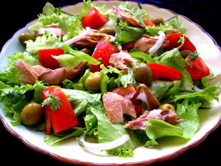 лёгкий и вкусный салат рецепт с фото