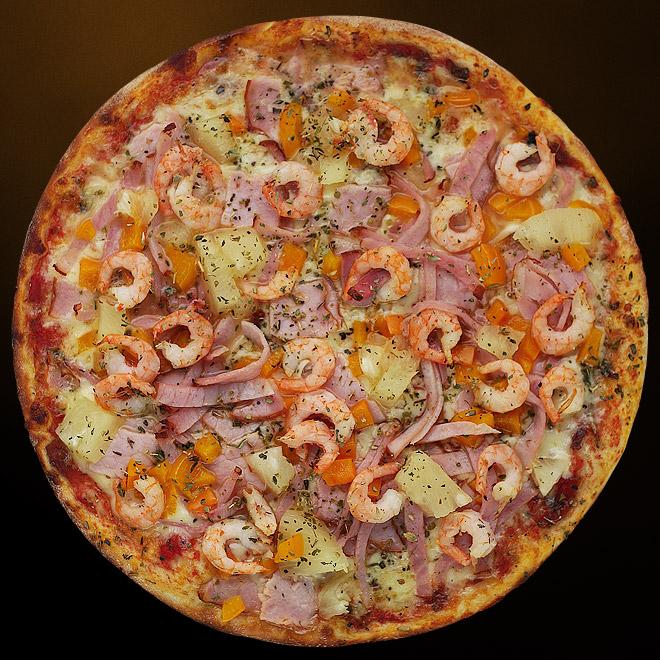 Рецепты пицц с морепродуктами