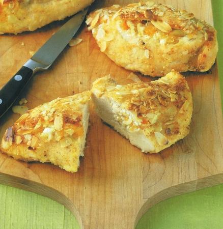 Жаренная рыба с сухарях