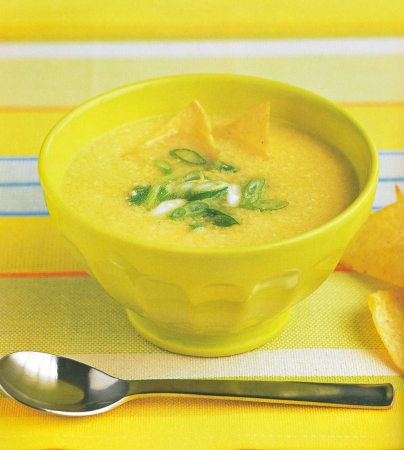 суп с кукурузой рецепт с фото