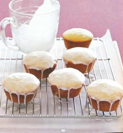 Рецепт кекса с глазурью