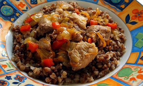 как приготовить гречку вкусно с мясом и подливом
