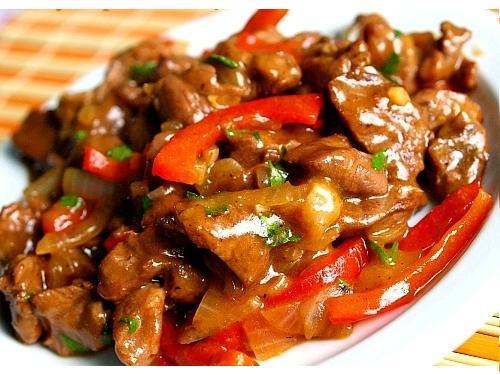 рецепты блюда кулинария блюда с подливой