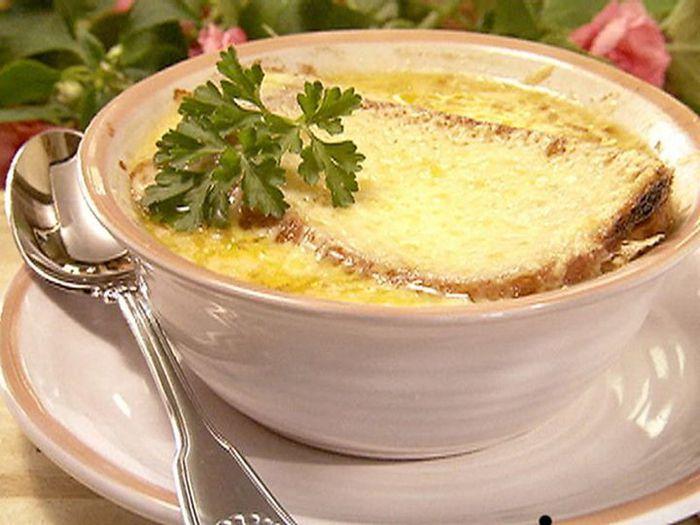 Французский луковый суп  рецепт
