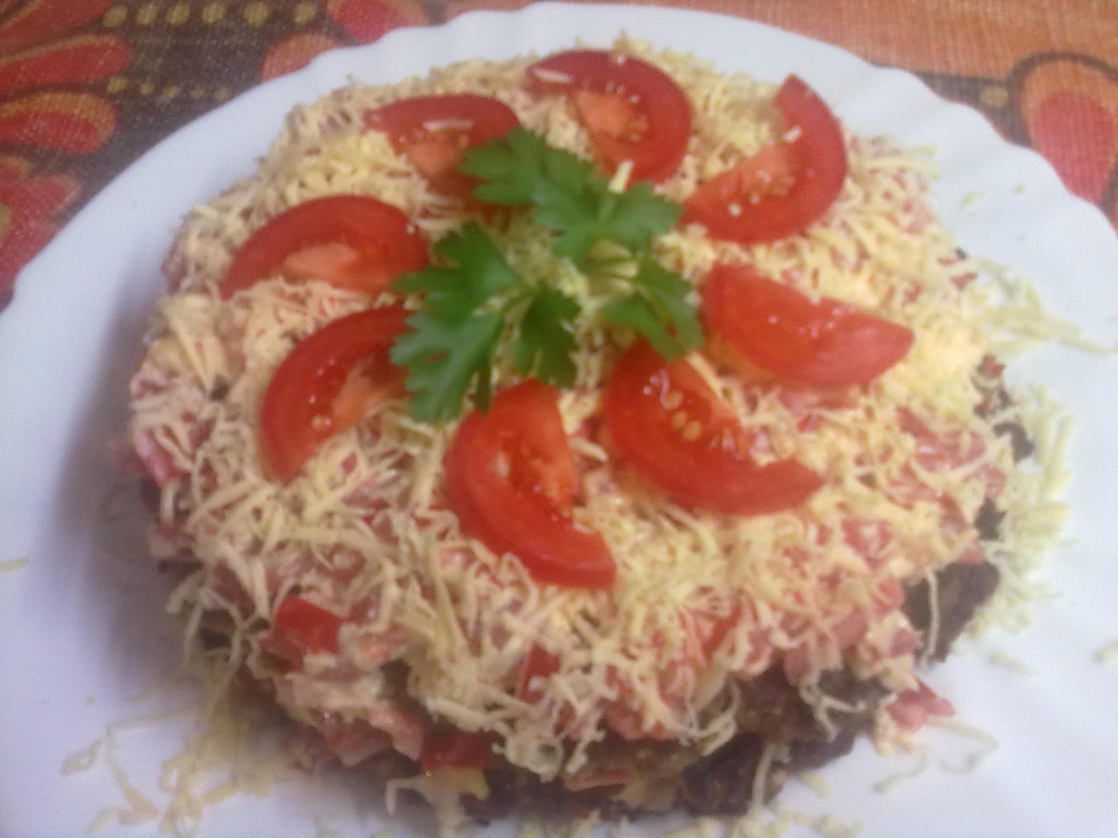Салат с мивиной рецепт пошагово