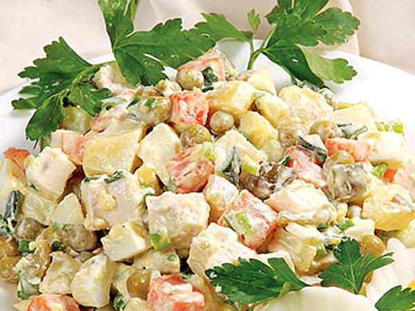 Ккал салат столичный