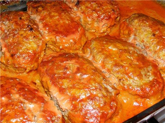 Что приготовить из мяса с сыром