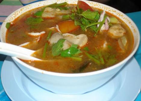 суп с кальмаром рецепты