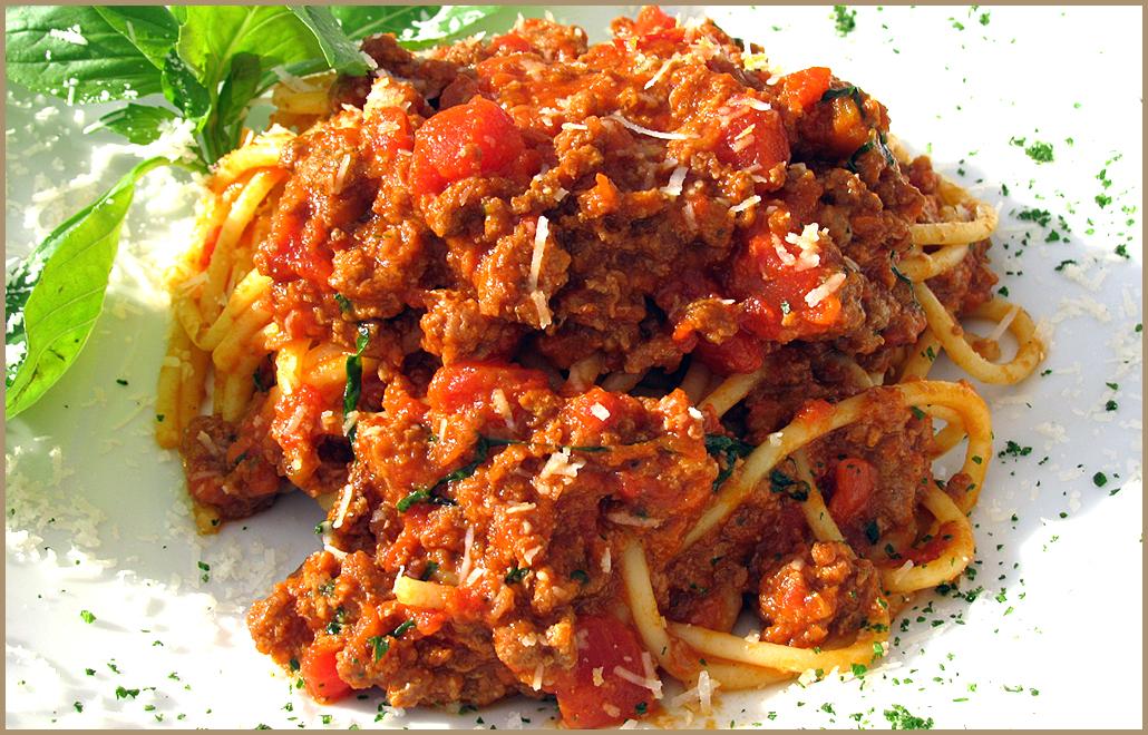 Спагетти болоньезе рецепт с куриным фаршем