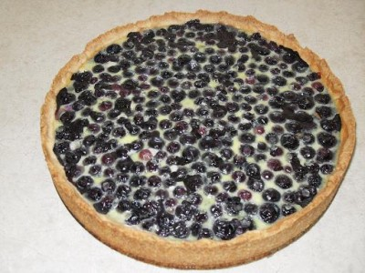 пирог с черникой рецепты с фото