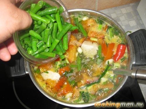 как приготовить ребенку суп из стручковой фасоли