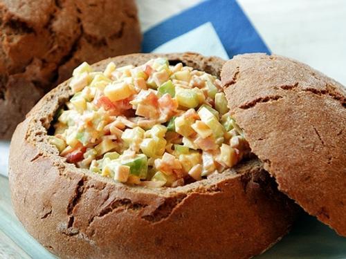 салаты слоеные очень вкусные фото рецепт