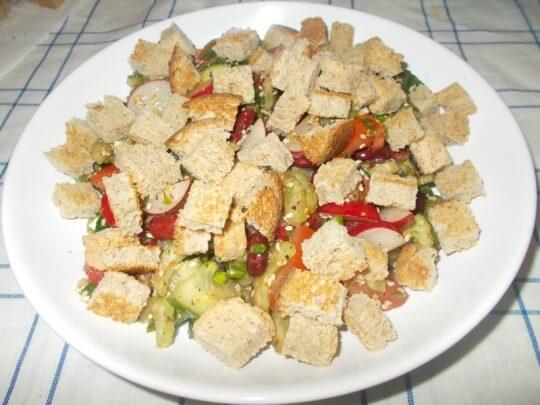 рецепты салата с оливками и сыром
