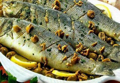Золотая рыбка кефаль
