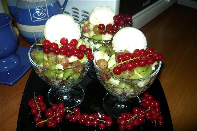 Десерт из мандаринов «Санта Лючия»