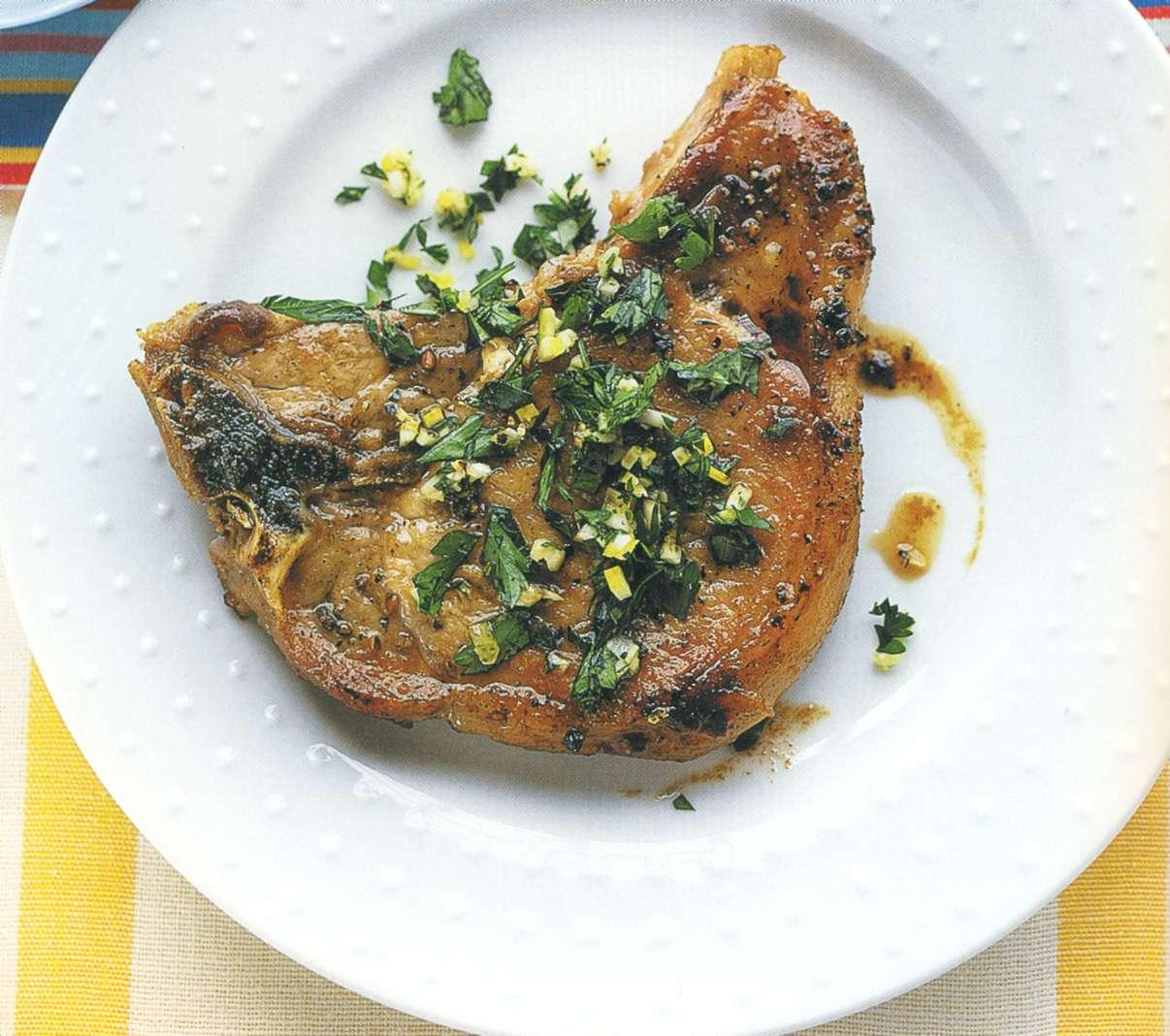 Рецепт: стейки из лосося в глазури из соуса хойсин