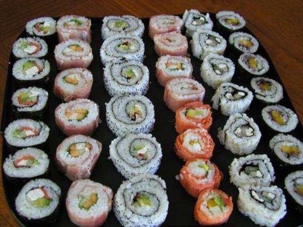 Разновидности суши