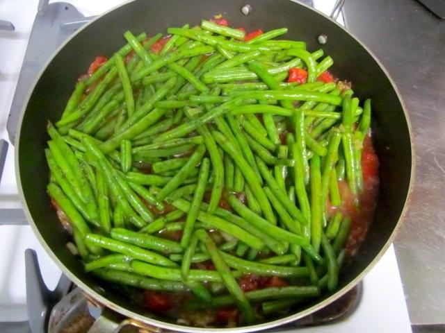 Готовим зеленую фасоль