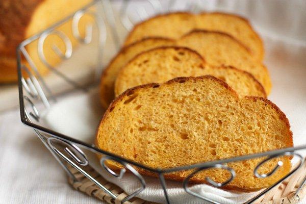 Домашний тыквенный хлеб