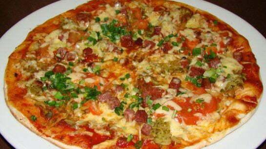 Пицца по-немецки