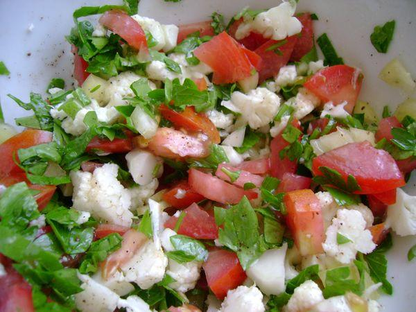 Салат из цветной капусты (2)