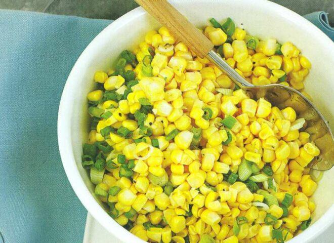 Рецепт: салат из кукурузы