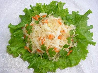 Приготовления квашеной капусты