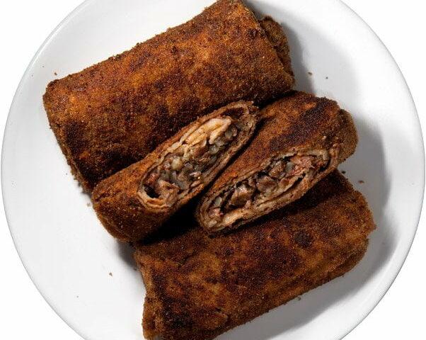 Гречаники (Krokiet, грачанiкi, блинчатые пирожки)