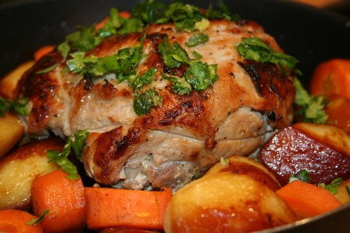 Запеченная свинина — рецепт