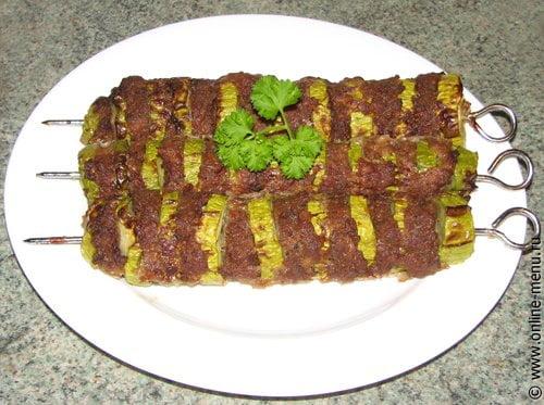 Люля-кебаб с кабачками рецепт