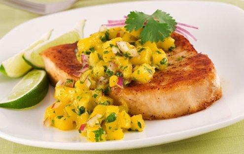Рыба с манго — рецепт