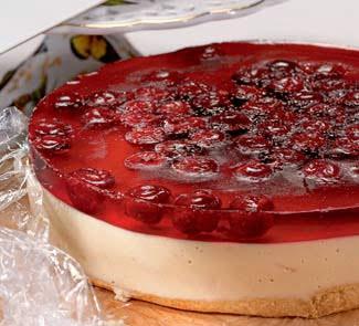 Рецепт приготовления творожный десерт – желе с фруктами