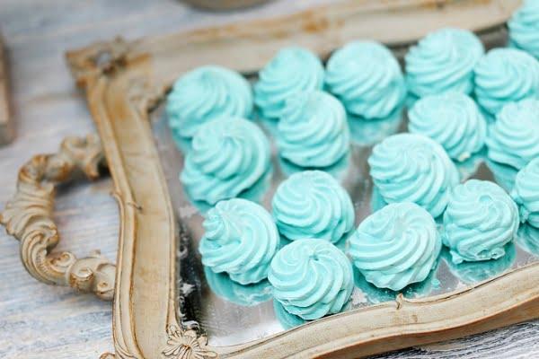 Мятные конфеты и зефирки