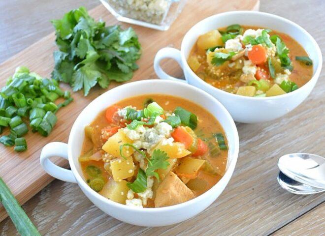 Куриный суп «Баффало»