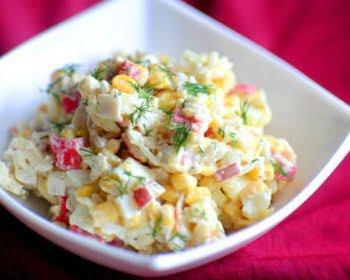 Как приготовить крабовый салат?