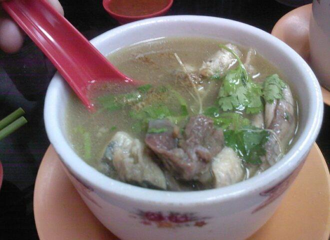 Филадельфийский черепаховый суп