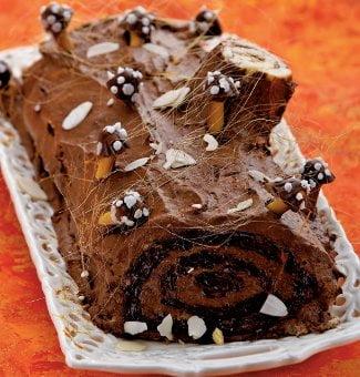 Блюда Франции: Шоколадное полено