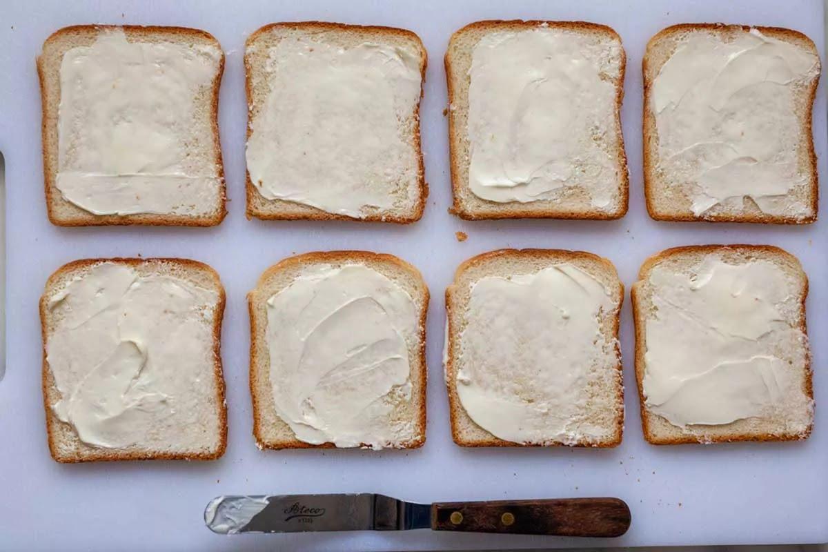Бутерброды с огурцом