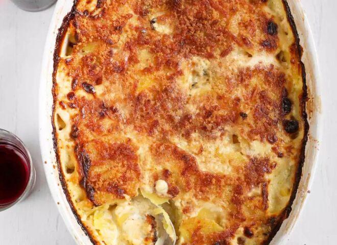 Картофель Au Gratin