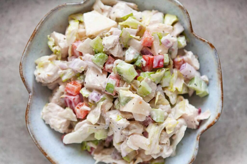 Классический куриный салат